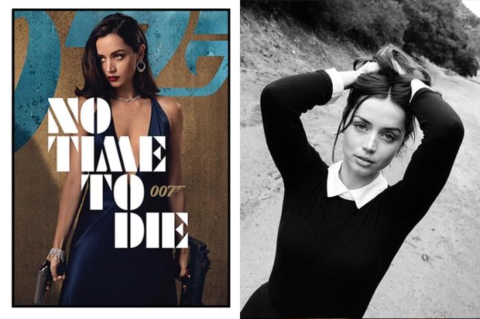 《007》電影預告熱血公開,但眾人都在討論的是這位新任龐德女郎 Ana De Armas!