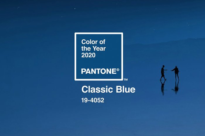 Pantone 公布 2020 代表色:溫暖又深沈的「Classic Blue」令人感到平靜而安寧