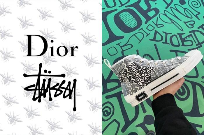 又一雙鞋準備搶翻:Dior 聯手 Shawn Stussy 推出 B23 鞋款更多式樣曝光!
