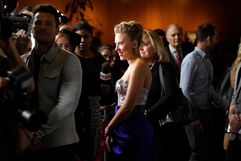 Scarlett Johansson talk about Marriage Story
