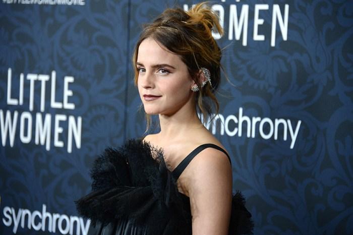紅毯上許久不見的 Emma Watson,卻因為這身全黑裝扮惹來兩極評價!