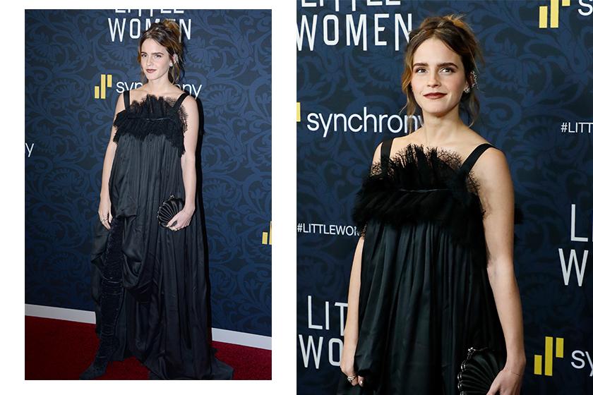 Emma Watson Little Women Movie Red Carpet Look