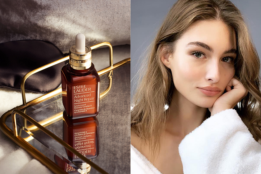 Estee Lauder Night Skincare tips Advanced Night Repair