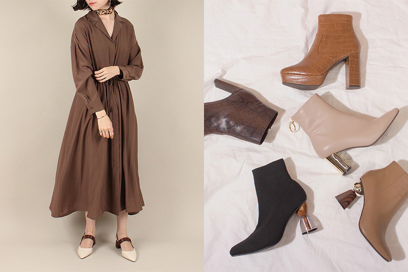 Japanese Shoe Brand RANDA Office Style