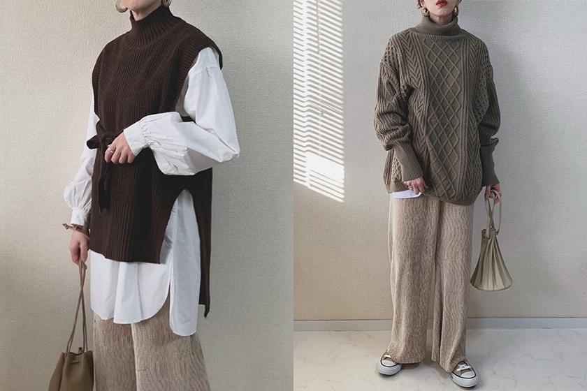 Japanese Girl Cozy sweaters Style misato36