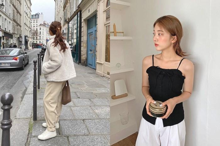 多花幾分鐘就能擺脫單調髮型:跟學韓國女生的 7 個變奏版本低馬尾編髮!
