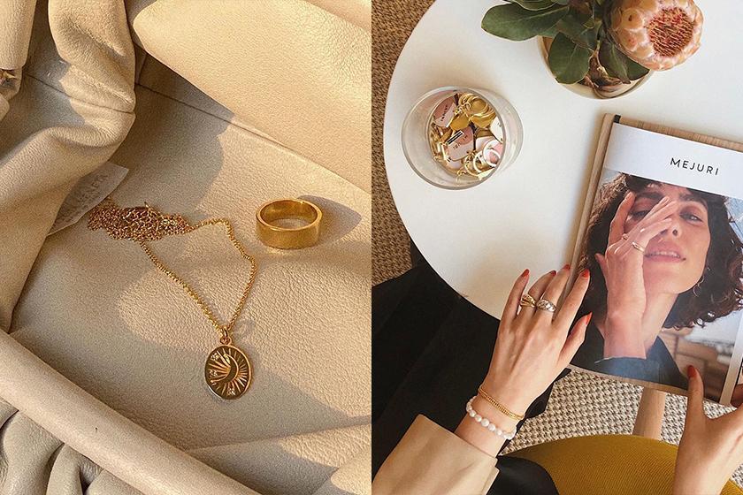 Mejuri Indie Simple jewelry Brand