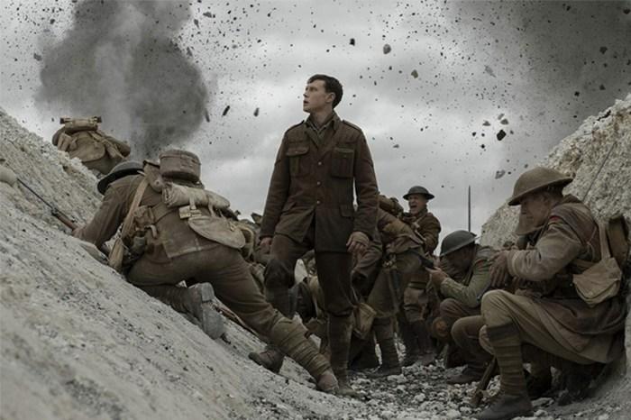 一鏡到底的拍攝手法:Benedict Cumberbatch 主演這部戰爭電影《1917》被評為年度 10 大電影!