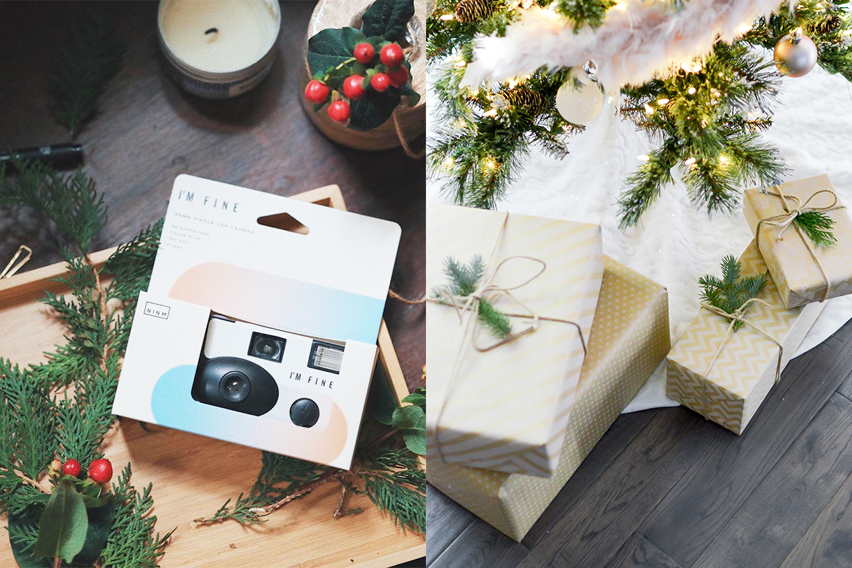 Christmas Gifts recommendation 2019 Christmas budget HK $100 Charles and Keith Card Holder I'M Fine film camera STOJO Pocket Cup Resistance band
