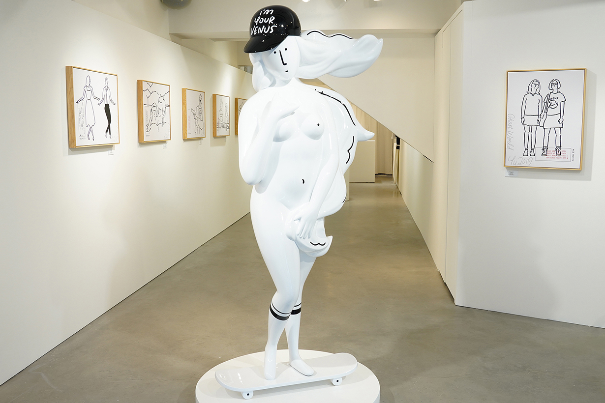 Meet Project Meet Yu Nagaba Gallery - I'm Your Venus exhibition