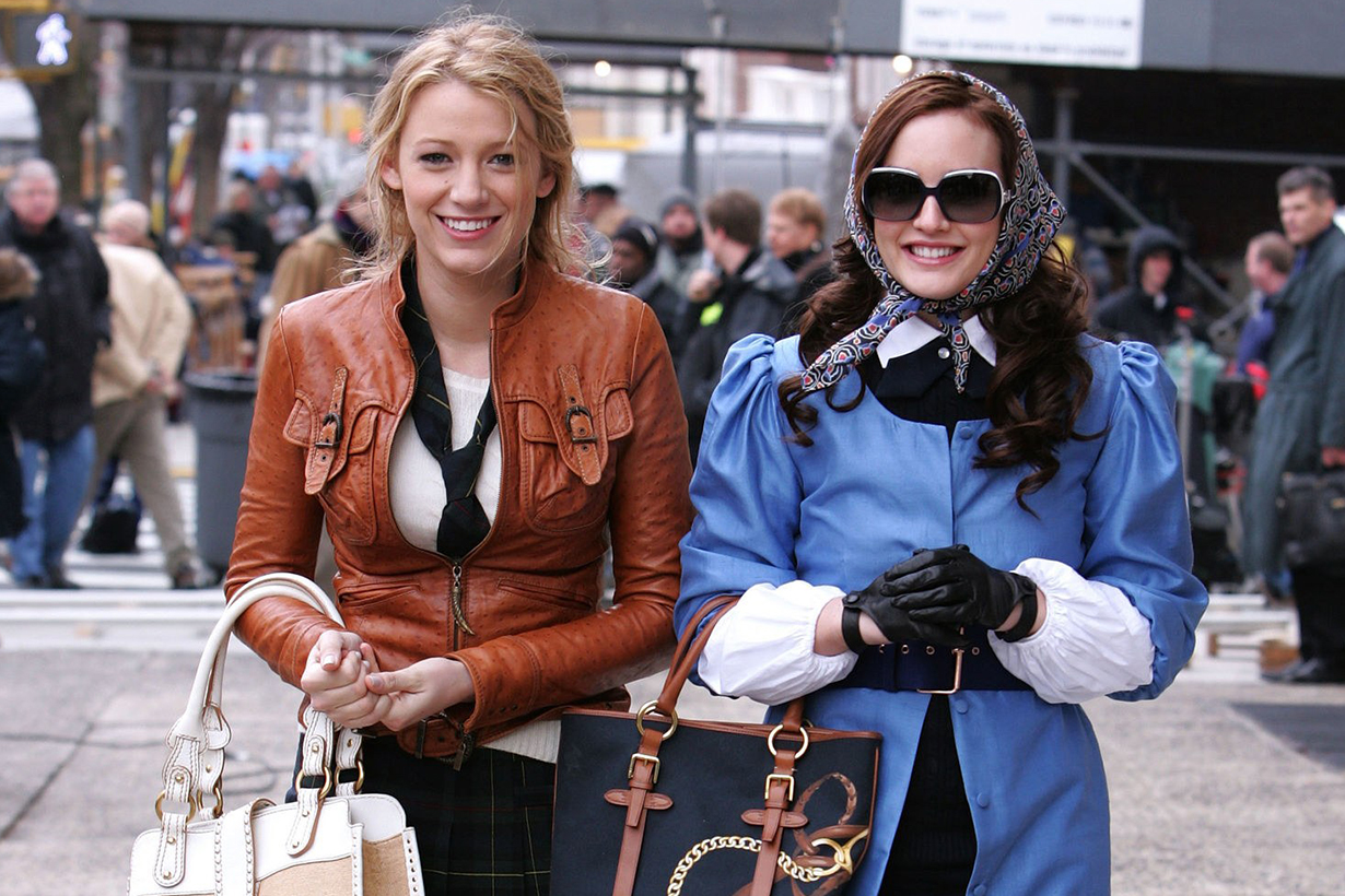 Gossip Girl Blair Waldorf  Queen B Leighton Meester Fall Winter items 2019