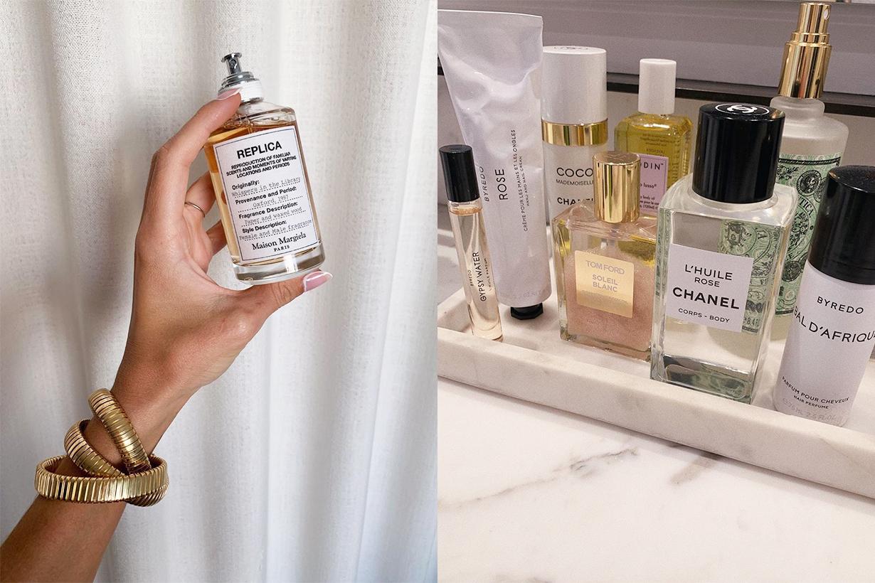 Vanilla Perfume fragrances White Musk DIPTYQUE BYREDO TOM FORD BEAUTY SERGE LUTENS HUDA BEAUTY BON PARFUMEUR  Chantecaille