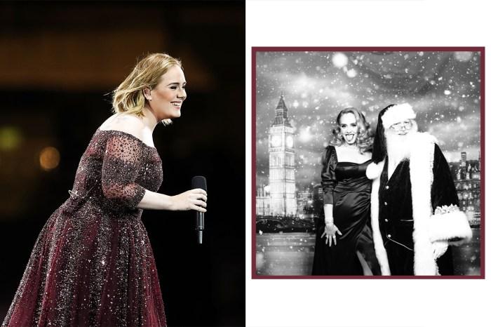 Adele 自貼黑白近照,整個瘦下來讓人大喊「認不出來」!