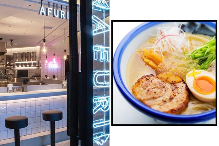 不用出國也嚐到!日本超人氣拉麵店 AFURI 香港分店開幕日期確定!
