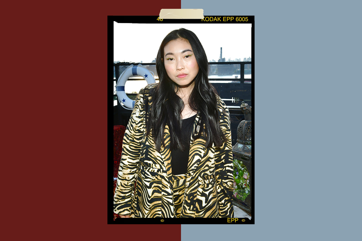 Awkwafina Nora Lum Asian American Actress Rapper Ocean's 8 Crazy Rich Asians The Farewell Saturday Night Live My Vag Stereotype Discriminate