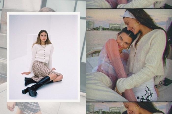 Bella Hadid 船上穿的米白開胸毛衣,正是來自這間巴黎小眾品牌!