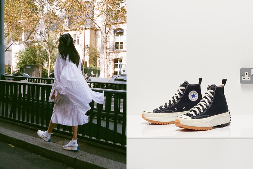 JW Anderson x converse black Run Star Hike restock