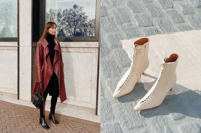 看膩了基本款靴?這個冬天,你或許就少一雙百搭又不無聊的綁帶靴!