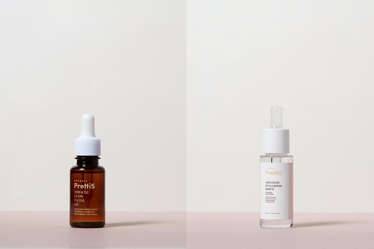 Vegan Skincare Brand Botanic Pretti5