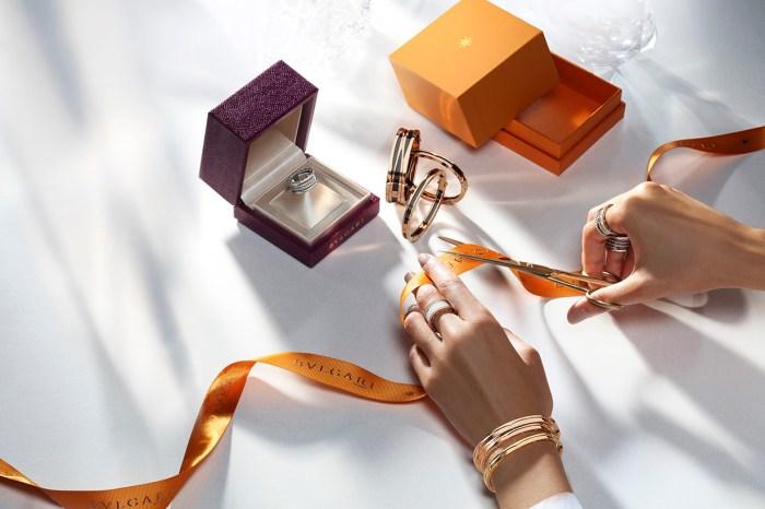 簡約經典的設計,BVLGARI 的珠寶是獎賞自己的最佳禮物!