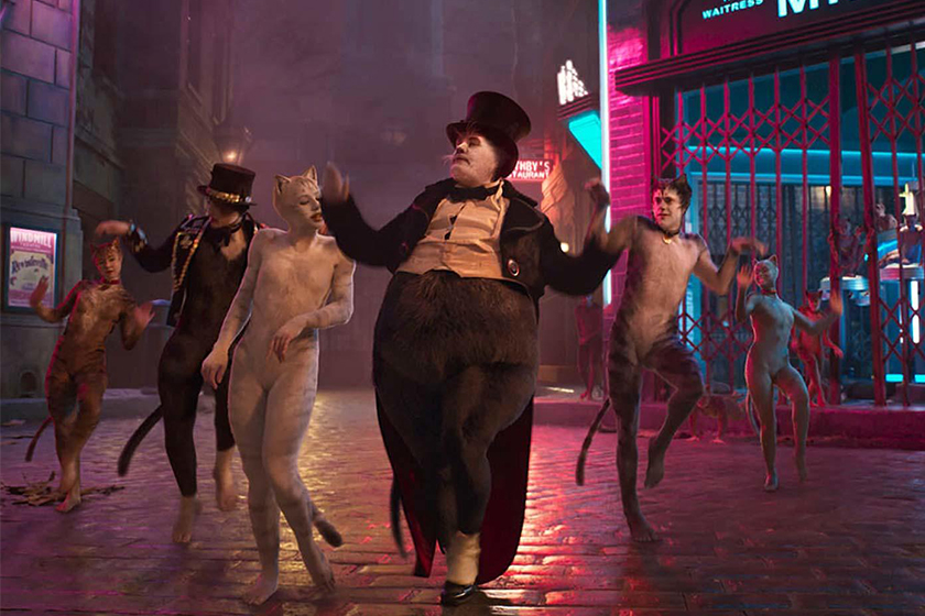 cats movie comments and Paco Delgado costumes design