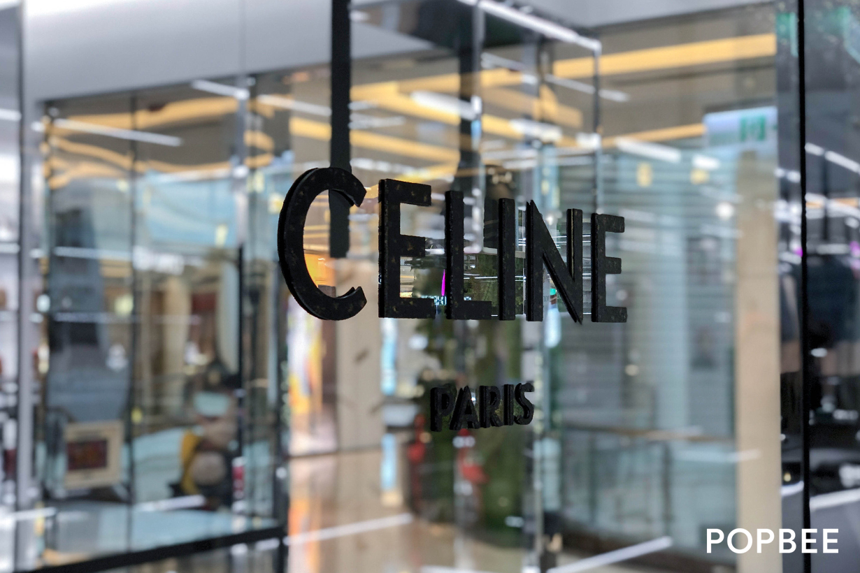 celine new concept store taiwan breeze center opening