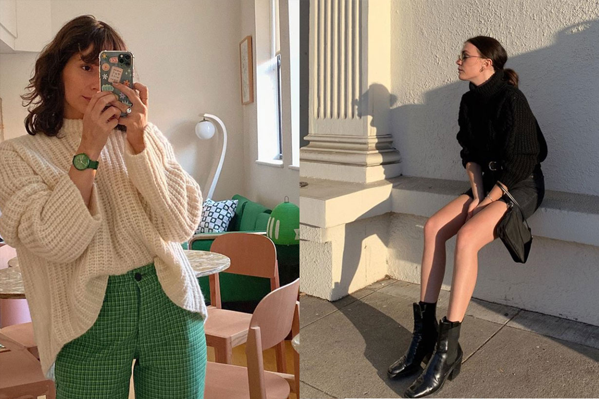 How To Wear Chunky Sweaters Like A Fashion Influencer