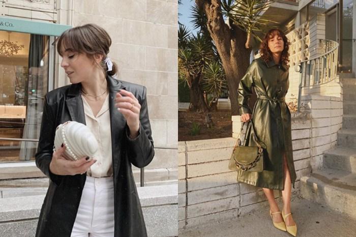 黑色皮革外套要過時了?2020 年的流行外套都會被這款取代!