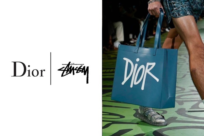 Logo 改為潑墨設計:繼聯乘波鞋後,Dior 與 Shawn Stussy 攜手最新系列曝光!
