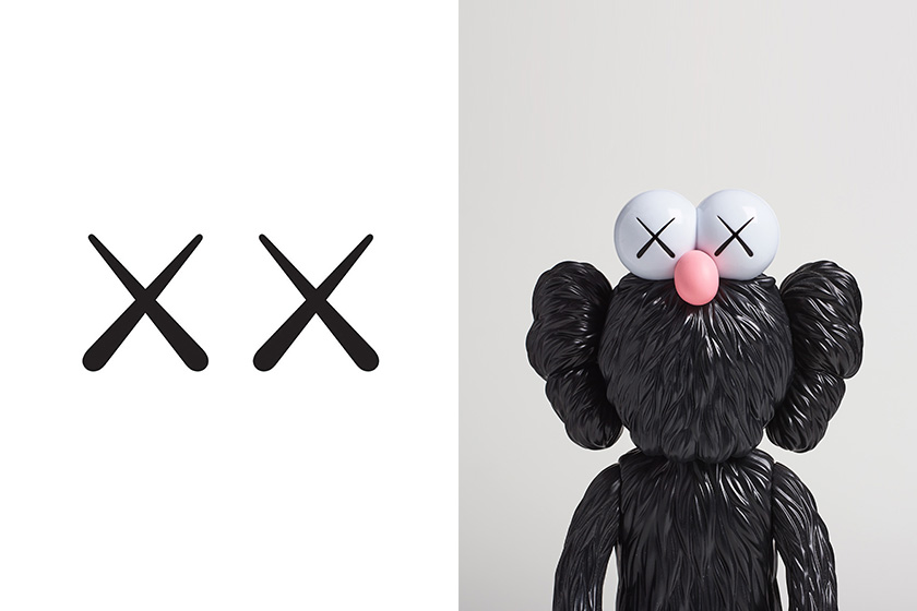 kaws collectible figures companion auction art phillips