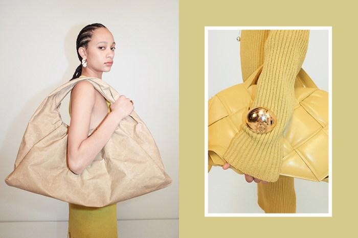 極簡變奏:Bottega Veneta 最新手袋加入絨毛、金屬粗鏈,預測為明年熱捧單品?