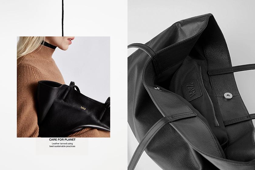 Edited X Zara Customize leather bag