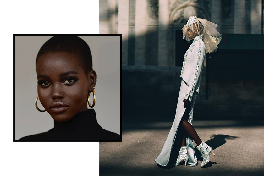 The Fashion Awards MODEL OF THE YEAR Adut Akech