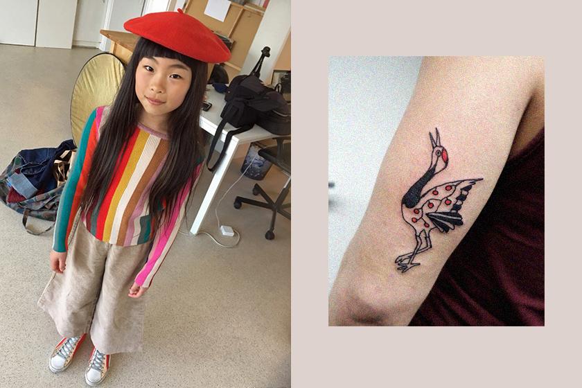 japanese girl noko tatoo