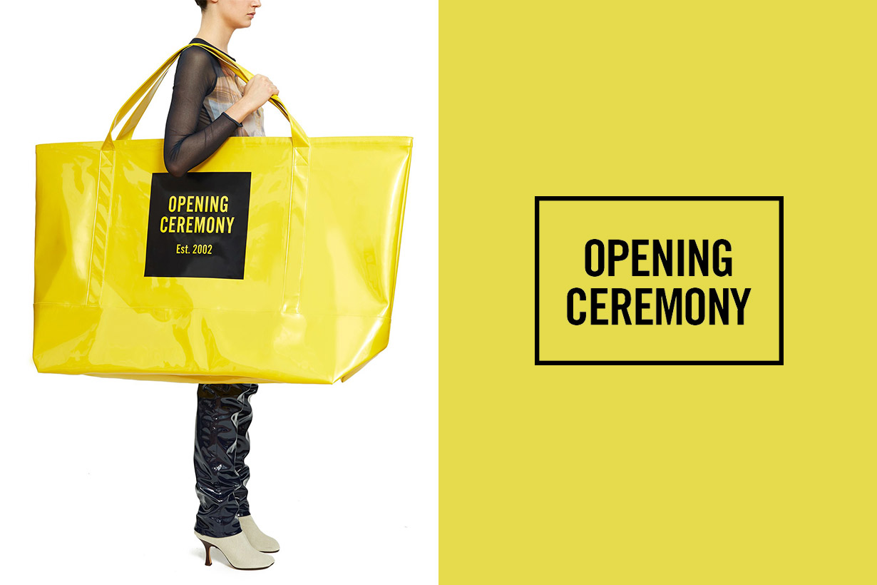 super big opening ceremony tote new york