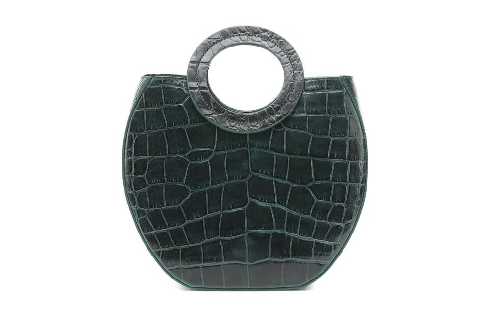 Frida Croc-effect Leather Tote