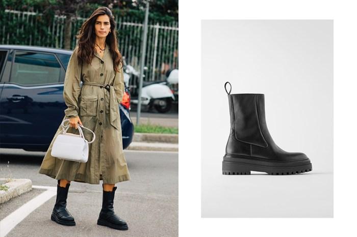 正在物色個性靴款的你,Zara 這一雙賣到缺貨的軍靴又再次上架了!