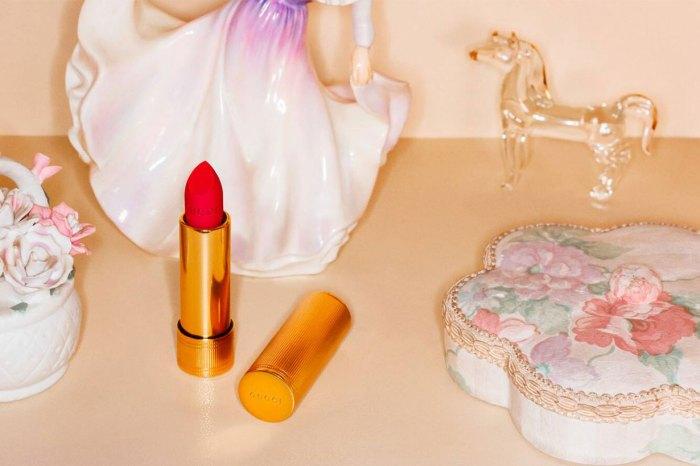 Gucci 最新 28 色唇膏系列:復古包裝+啞緻色調,女生怎能不愛上?