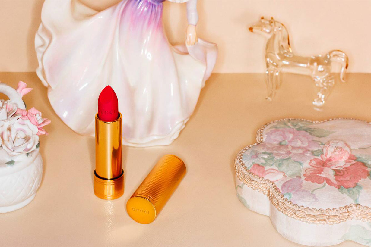 Gucci's New Rouge a Levres Mat Lipstick Features 28 Shades Of Shine-Free Color