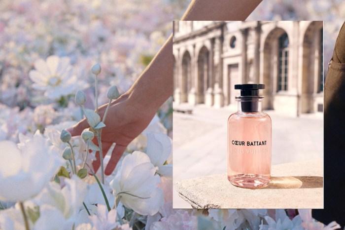 Louis Vuitton 推出帶有梨香結合花香的香水,噴上後猶如仙女下凡!