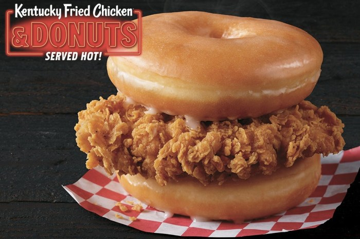 美式甜甜圈加上炸雞會是什麼滋味?KFC 和 Krispy Kreme 聯名餐點登陸台灣!