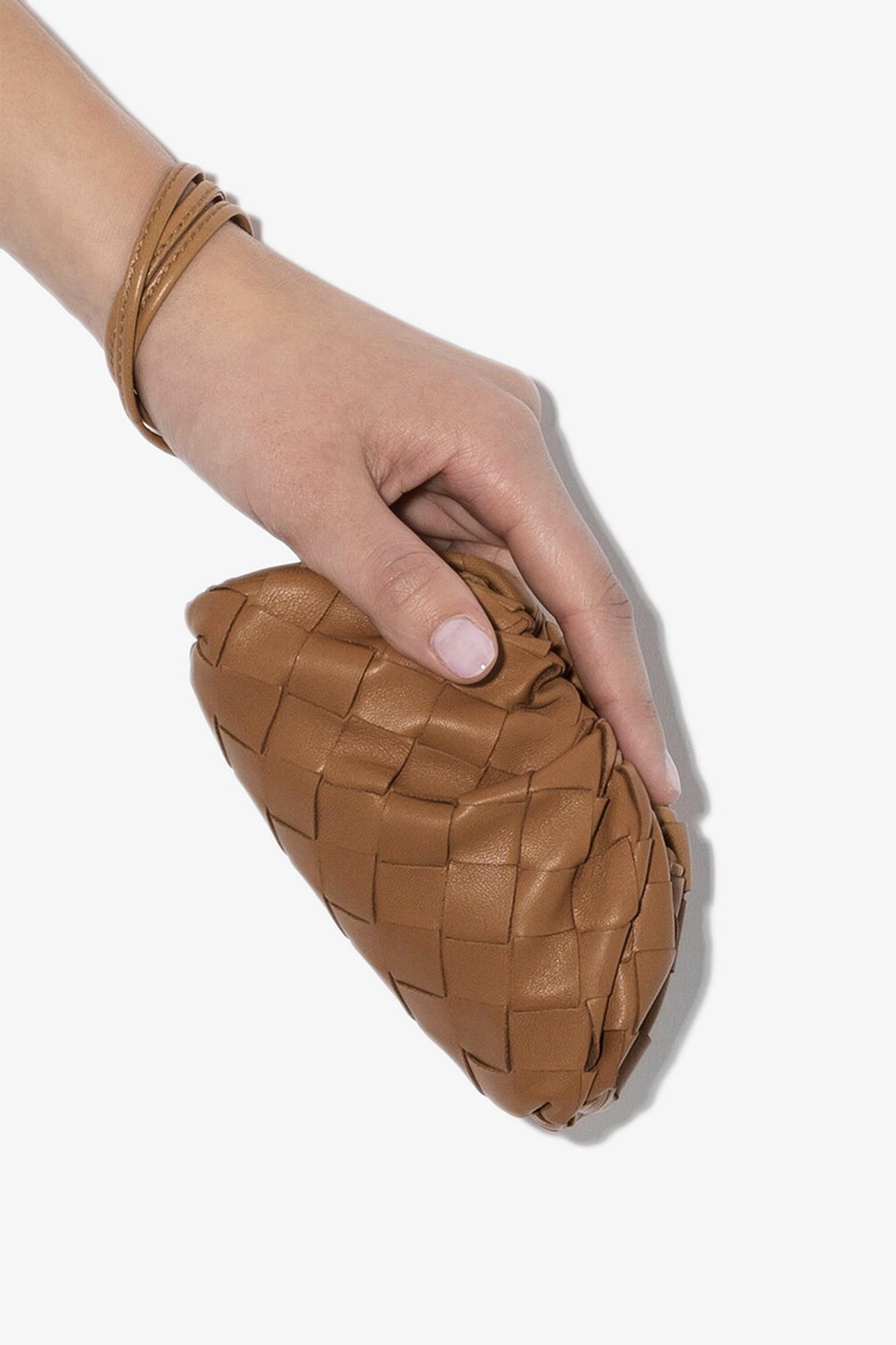 bottega veneta pouch mini bag dumpling tiny accessory