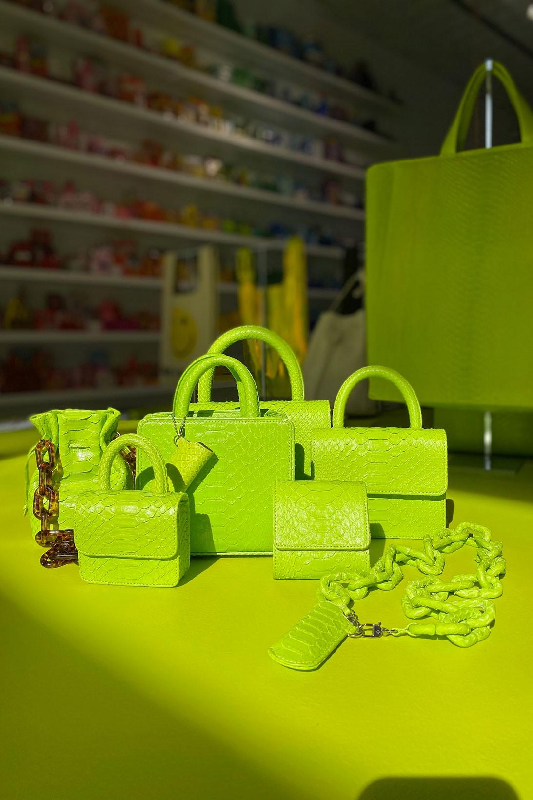 gelareh mizrahi art basel miami bodega pop up micro mini bags rainbow