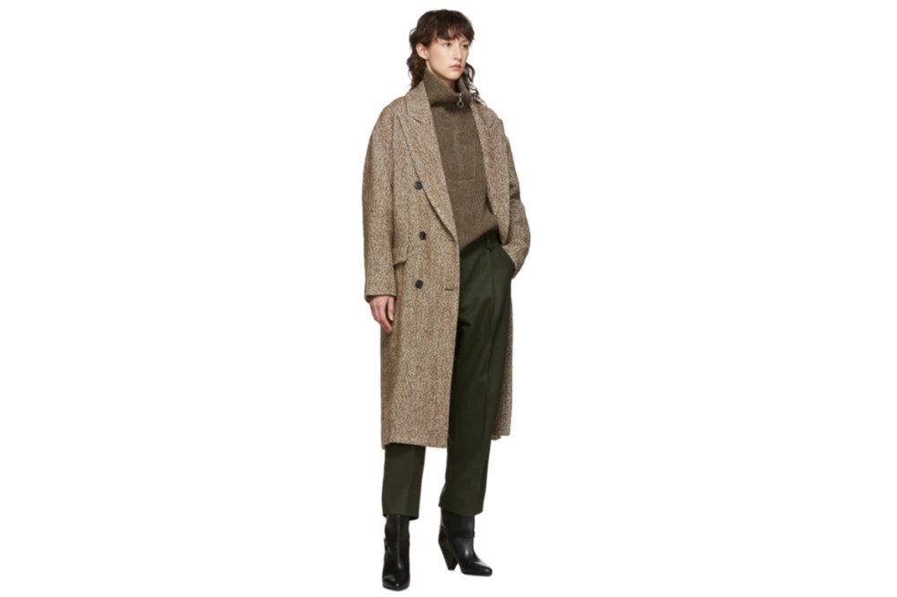 Isabel Marant Etoile Brown Habra Coat