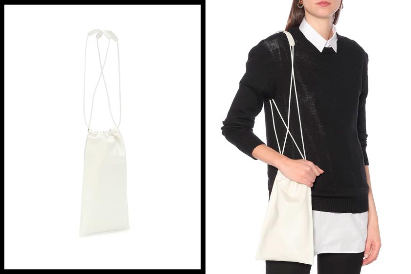 jil sander drawstring bag flat new it pre order