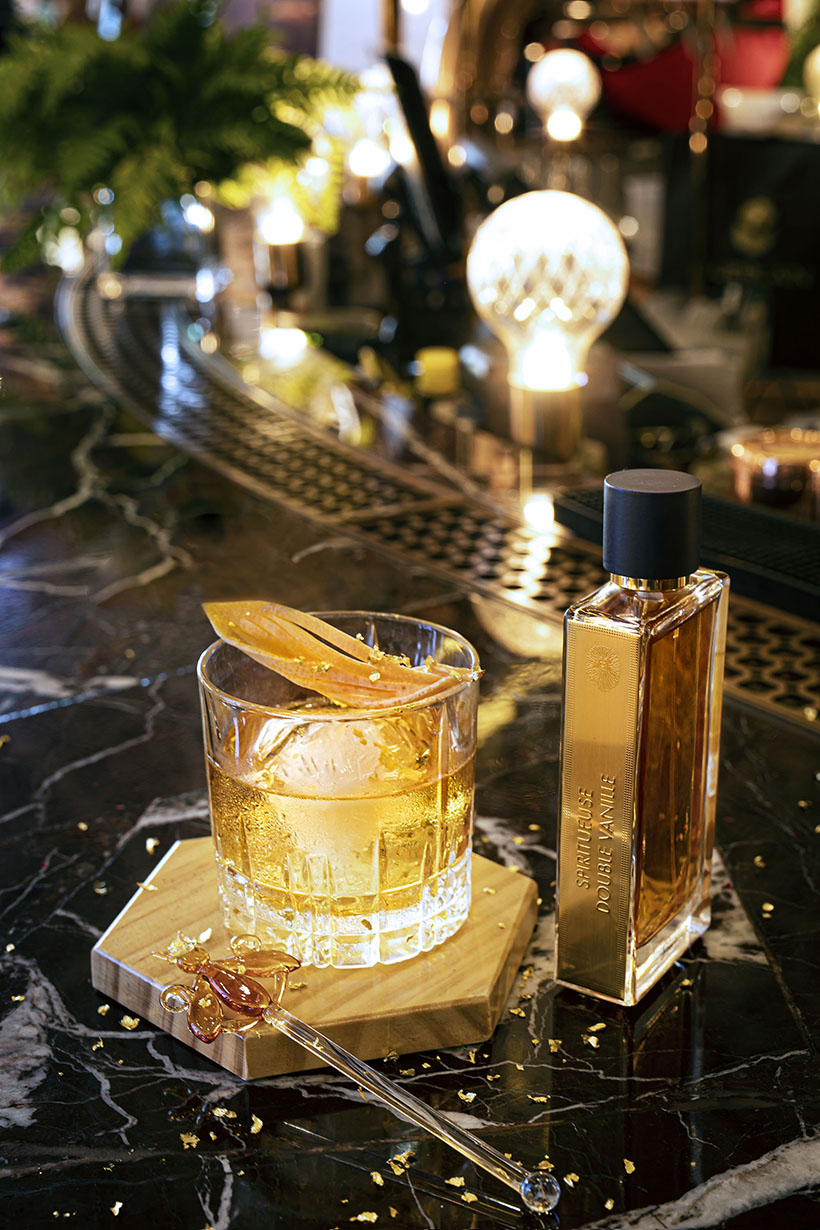 K11 Musea Artisan Lounge collaborates with Guerlain for Christmas Cocktail