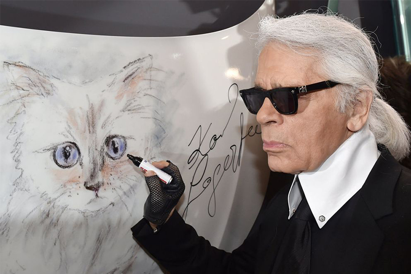 karl lagerfeld brand fur free policy