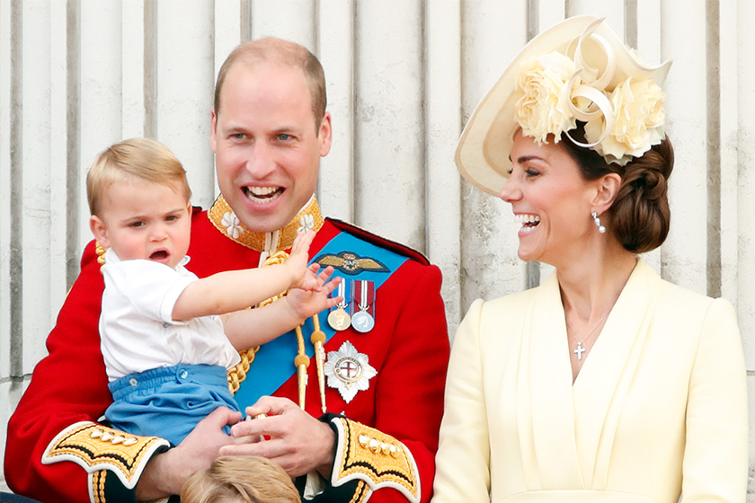 kate middleton  Prince Louis first word mary berry great british bake off