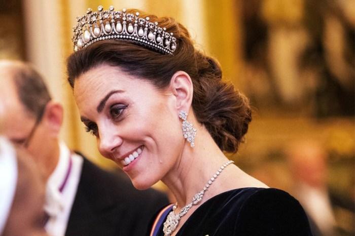 凱特再以戴妃最愛王冠亮相,天鵝絨禮服盡顯未來王后的氣質!