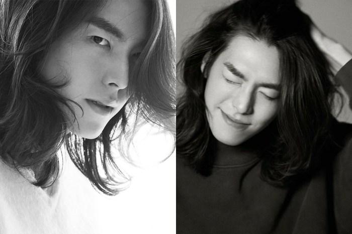 金宇彬以長髮造型拍海報,更宣佈接下來參與的新作品!